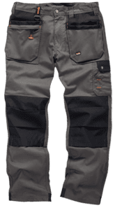Scruffs Worker Plus Graphite Grey Work Trousers